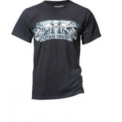 T-Shirts WEST LETHAL noir