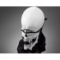 masque tour de cou coton skull