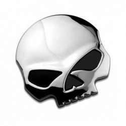 Patch tête harley skull 3D...
