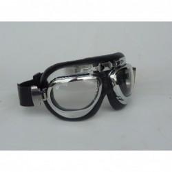 lunettes aviateur cadre chromé