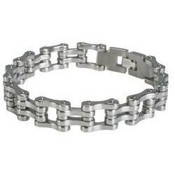 bracelets en acier mailles...