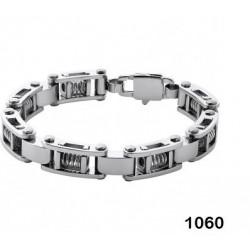 bracelet acier avec pistons...